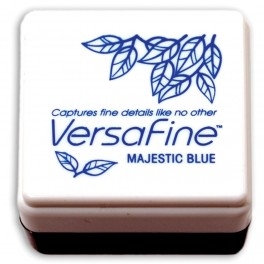 Tinta pequeña Majestic Blue Versafine - Tsukineko