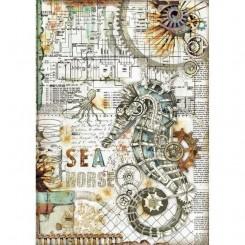 Seahorse A4 - Stamperia