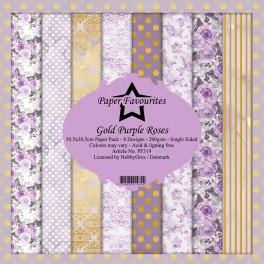 Purple Roses - Dixi Craft