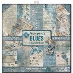 Colección Blues 12 x12 -Stamperia