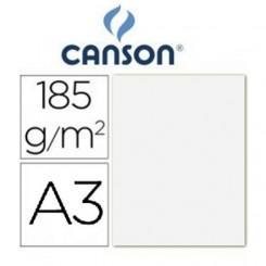 Cartulina Blanca 185 Grs A3 - Canson Iris