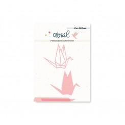 Grullas Origami ABRIL - Lora Bailora