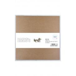 Cartón Kraft 2,0mm 30,5x30,5cm