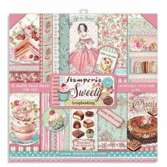 Sweety 12x12 - Stamperia