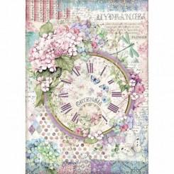 Papel Arroz A4 Clock - Stamperia