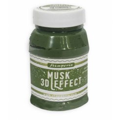 3D Musk Effect Verde Oscuro - Stamperia
