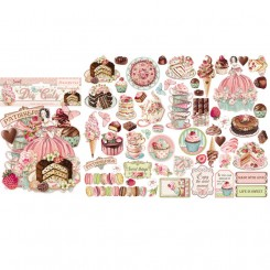 Die cuts Sweety - Stamperia