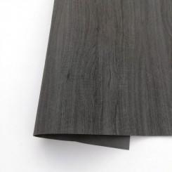 Ecopiel madera Negro - Kora