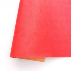 Ecopiel mate Rojo Lava - Kora