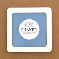 Shaker cuadrada 13 cm - Kora