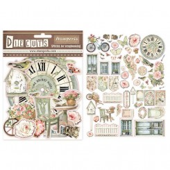 Die Cuts  House of Roses - Stamperia