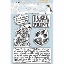 Leave Your Print Colección Arctic Antarctic - Stamperia