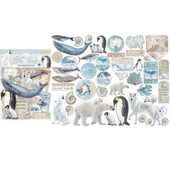 Die Cuts Arctic Antarctic - Stamperia
