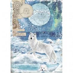 Papel de Arroz A4 Wolf - Stamperia
