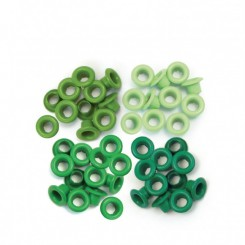 Eyelets Green - We R Memory Keepers