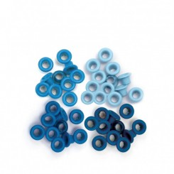 Eyelets Blue - We R Memory Keepers