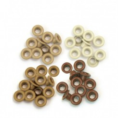 Eyelets Brown - We R Memory Keepers