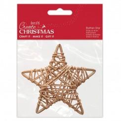 Estrella de ratán 10cm