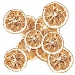 Rodajas de naranjas secas