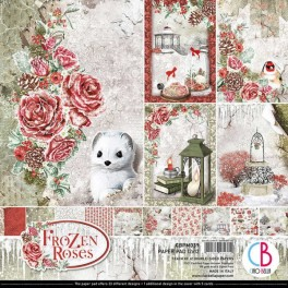 Colección de papeles Frozen Roses - Ciao Bella