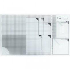 Base de corte de cristal Tonic Studios 60x36,5cm