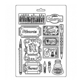Molde A4 Ink and Labels - Stamperia