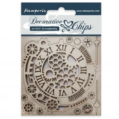 Chips Gears and Clocks - Stamperia
