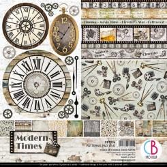 "Modern Times Patterns Pad 12""x12"""