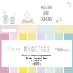 Recortables NOSOTRAS-Basic Crea
