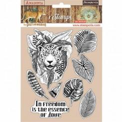 Sello Jaguar Amazonia de Cristina Radovan