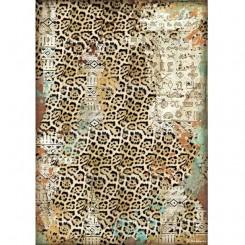 Papel de arroz A4 Textura Amazonia de Cristina Radovan