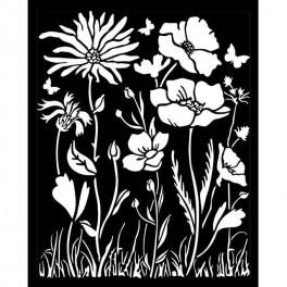 Stencil Atelier Amapola y Flor Atelier de Sara Alcobendas