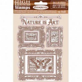 Sello Nature is Art Marcos Atelier de Sara Alcobendas-Stamperia