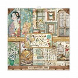 Colección Atelier des Arts de Sara Alcobendas-Stamperia