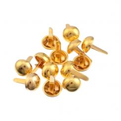 Brads dorados - 1 cm