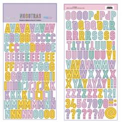 Chipboard Alfabeto Nosotras-Basic Crea