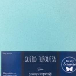 Pack Papeles especiales CueroTurquesa SDNArt
