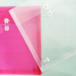 Pack 4 fundas scrap transparentes