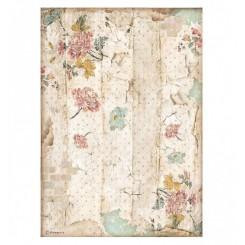 Papel Arroz A4 Alice Textura muro-Stamperia