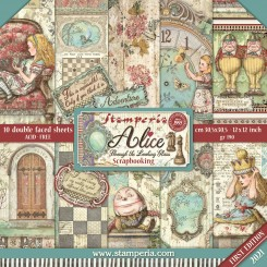 Colección Alice through the looking glass-Stamperia