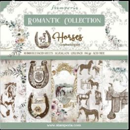 Colección Romantic Horses-Stamperia