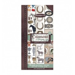 Recortables Romantic Horses-Stamperia