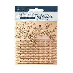 Decorative Chips Alice Wall-Stamperia
