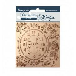 Decorative Chips Alice Reloj-Stamperia