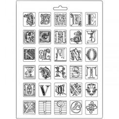 Molde A4 Alphabet - Stamperia
