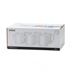 Pack 6 tazas de cerámica 350 ml Cricut