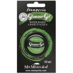 Glamour Gel Nature Green-Stamperia