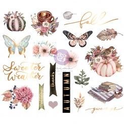 Die Cuts Hello Pink Autumn Prima Marketing