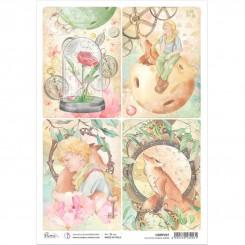 Papel de Arroz The Little Prince Cards-Ciao Bella