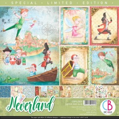 Neverland LIMITED EDITION 12x12-Ciao Bella